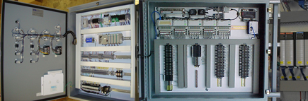Control Panels with PLC Systems
